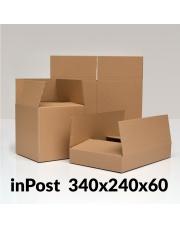 Karton klapowy 340x240x60 mm 1 szt.