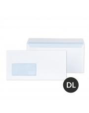 Koperta DL biała HK okno lewe (110x229) 1000 szt.