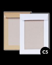 Koperta C5 z tyłem kartonowym (162x229) 250szt.