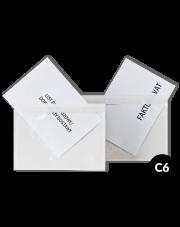 Koperta - przylga C6 (135x178) 1000szt.