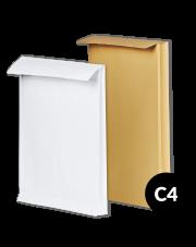 Koperta rozszerzana C4 (229x324x40) 250szt.