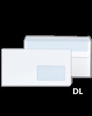 Koperta DL biała SK z oknem (110x229) 1000 szt.
