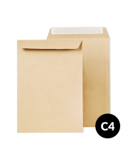 Koperta C4 brązowa HK (229x324) 250 szt.