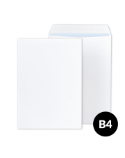 Koperta B4 biała HK (250x350) 250 szt.
