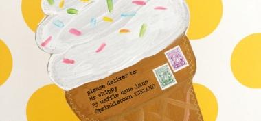 Wakacyjna koperta DIY  - coś dla dzieci :)